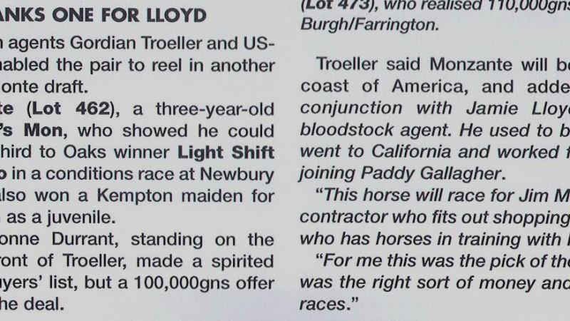 Troller banks one for Lloyd