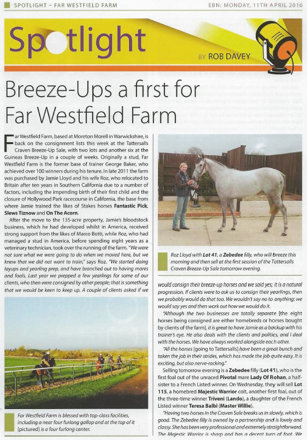 EBN article roz page 1
